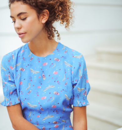 Primrose Park Betty Dress in Starry Nights