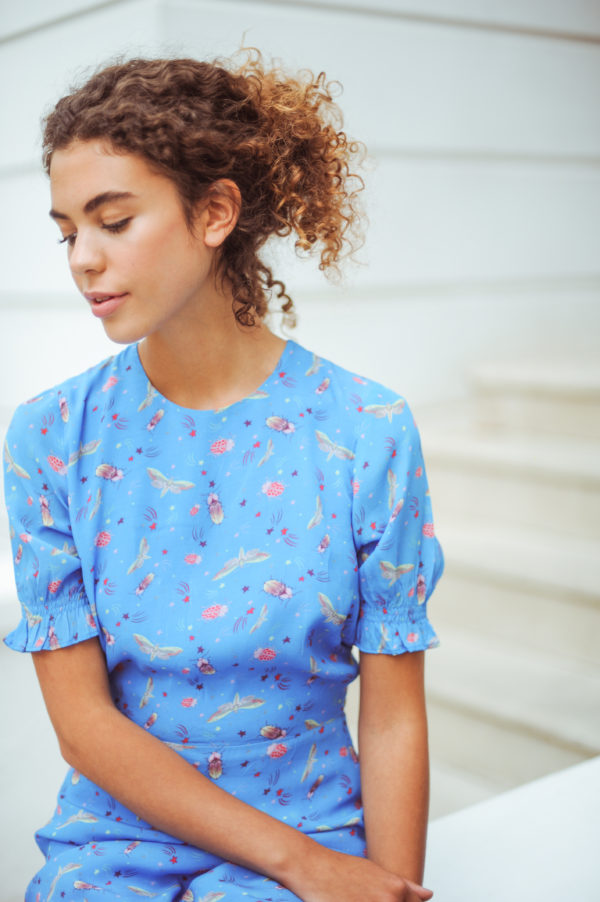 Betty Dress in Starry Night 1