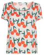 Fabienne Chapot Doris Loa Top in Peachy Print