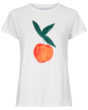 Fabienne Chapot Joanne Feeling Peachy T-Shirt in White