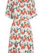 Fabienne Chapot Mila Shirt Dress Feeling Peachy Print