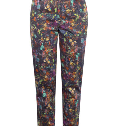 Pazuki Splatter Print Trousers  – Low Stock