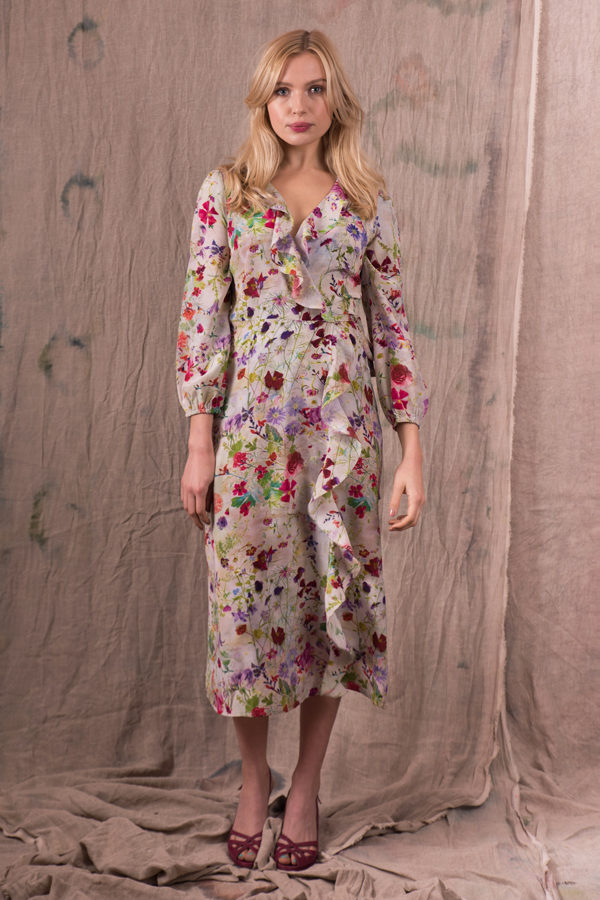 Pazuki-SS19—PZ70-Damask-Rose-Pink-Wrap-Dress-For-Web