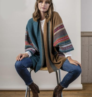 Eribe Blanket Coat in Lugano  – One Size