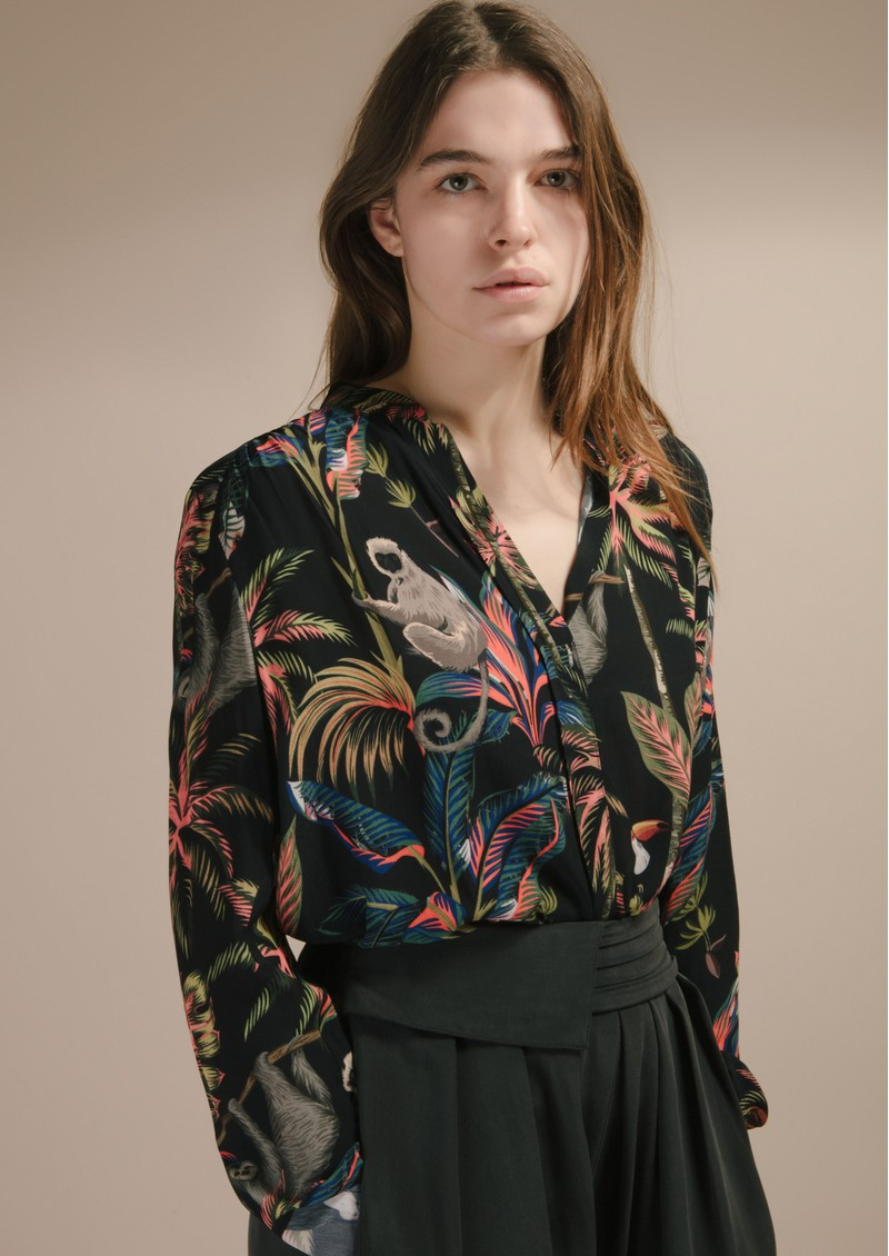 Pyrus Celeste Blouse in Epic Animal