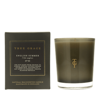 True Grace Manor Classic Candle in English Summer
