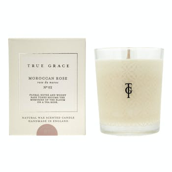 True Grace Moroccan Rose Classic Candle
