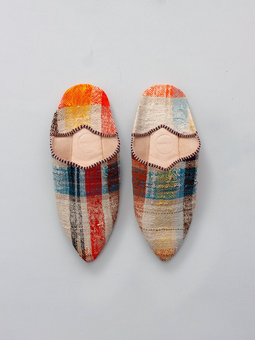 Bohemia Pointed Baouche Slippers