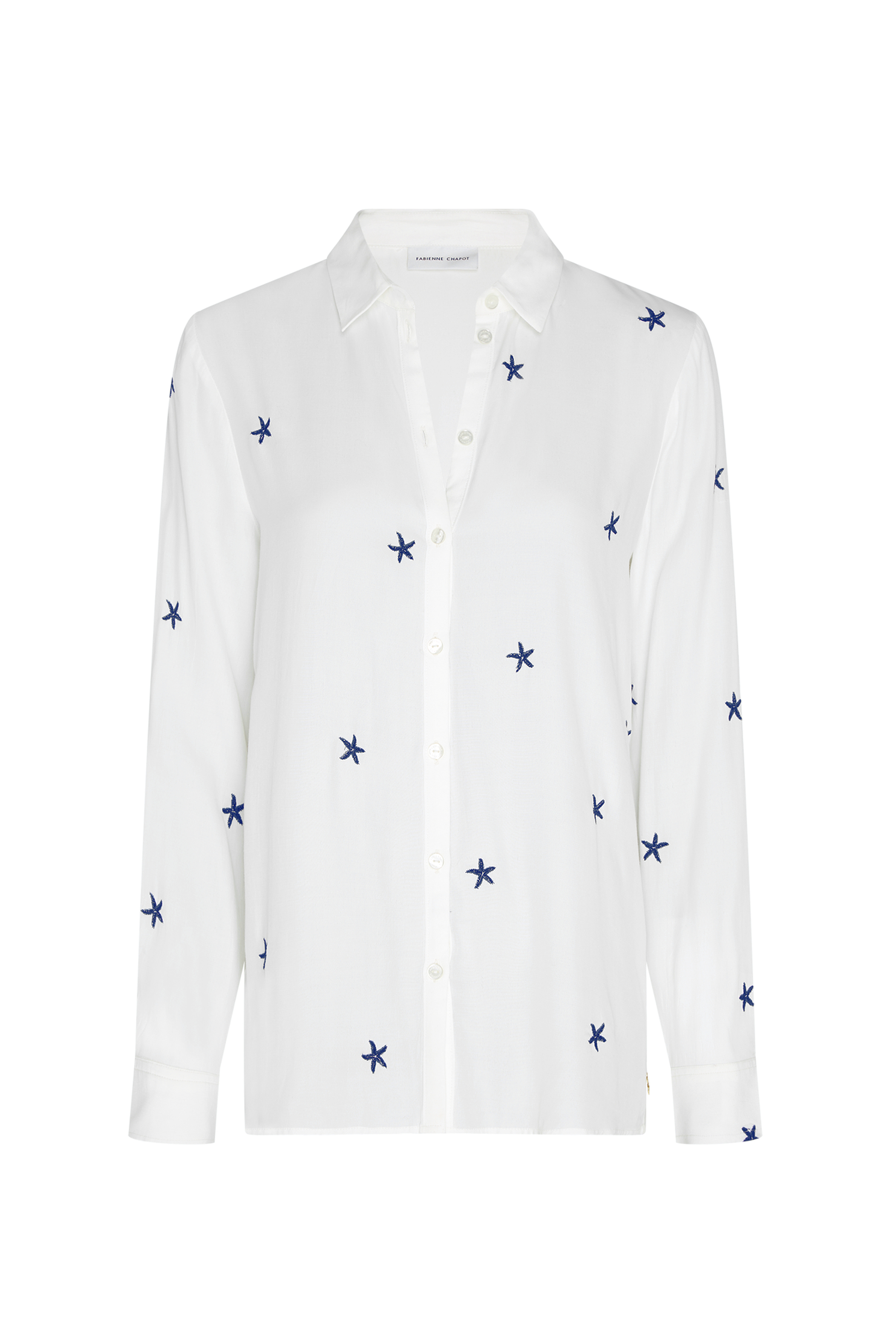 Fabienne Chapot Kitty Blouse in Blue Stars