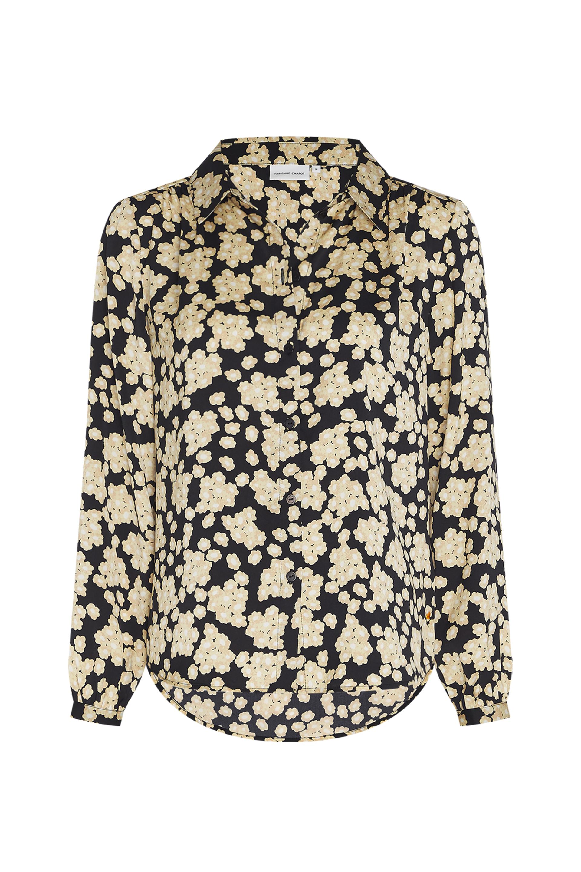 Fabienne Chapot Mira Blouse in Blossom Bouquet Black