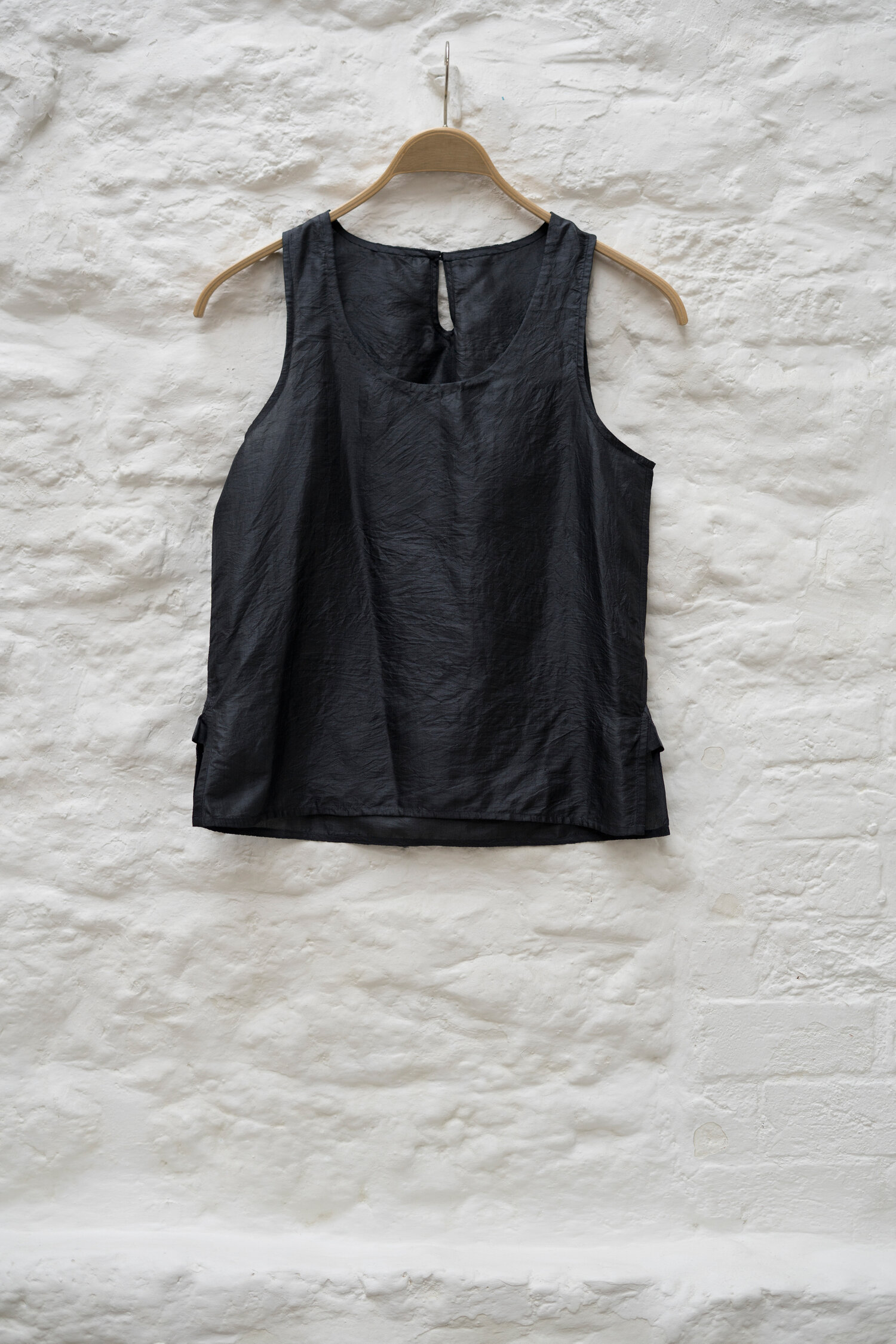 East By East West St Mawes Silk Slip Top