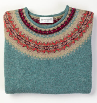 Eribe Alpine Sweater in Old Rose