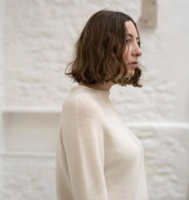 East by East West Malborough Jumper in Cream