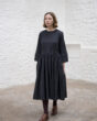 East by East West St Ives Dress in Charcoal