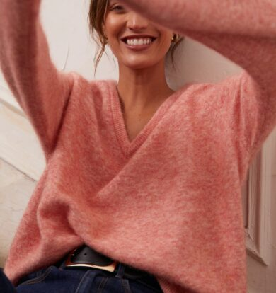 Idano Odie Jumper in Pink