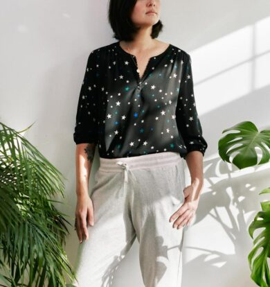 Pyrus Grace Top in Twilight Stars