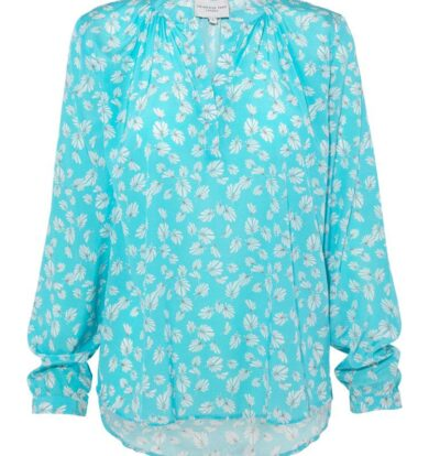 Primrose Park Sandy Open Shirt in Mystical Leaves