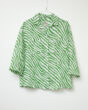 Sacrecoeur Simone Shirt in Green Animal